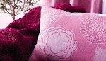 Różowe poduszki