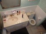 łazienka widziana z góry