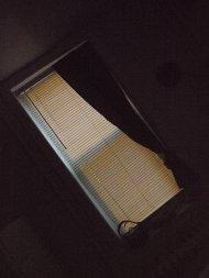 rolety na oknie