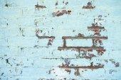 ściana stylizowana na zniszczoną