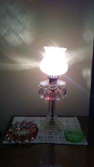 lampa kryształowa