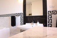 marmurowe elementy łazienki